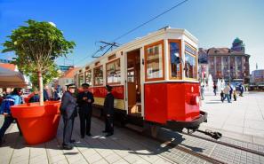 Turistički tramvaj u Osijeku