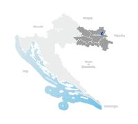 Karta Osijek (Hrvatska)
