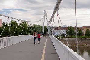 Osijek, Drava ('Bijeli' most)