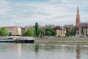 Osijek, lijeva obala Drave (šetnica)
