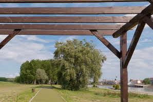 Osijek, lijeva obala Drave (trim staza)