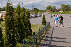 Osijek, lijeva obala Drave (ZOO hotel)