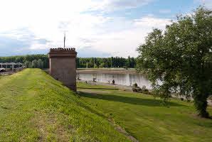 Osijek, Tvrđa (Bastion-Vodena vrata)