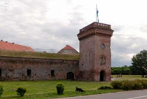 Osijek, Promenada (Tvrđa, Bastion)