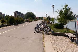 Osijek, Promenada (Gornjodravska obala)