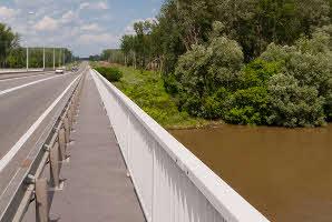 Osijek, cestovni most D7 na Dravi
