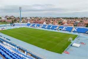 Osijek, Stadion 'Gradski Vrt' (Tribina ZAPAD gore #3)