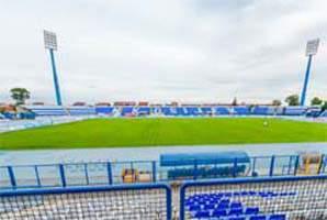 Osijek, Stadion 'Gradski Vrt' (Tribina ZAPAD dolje)
